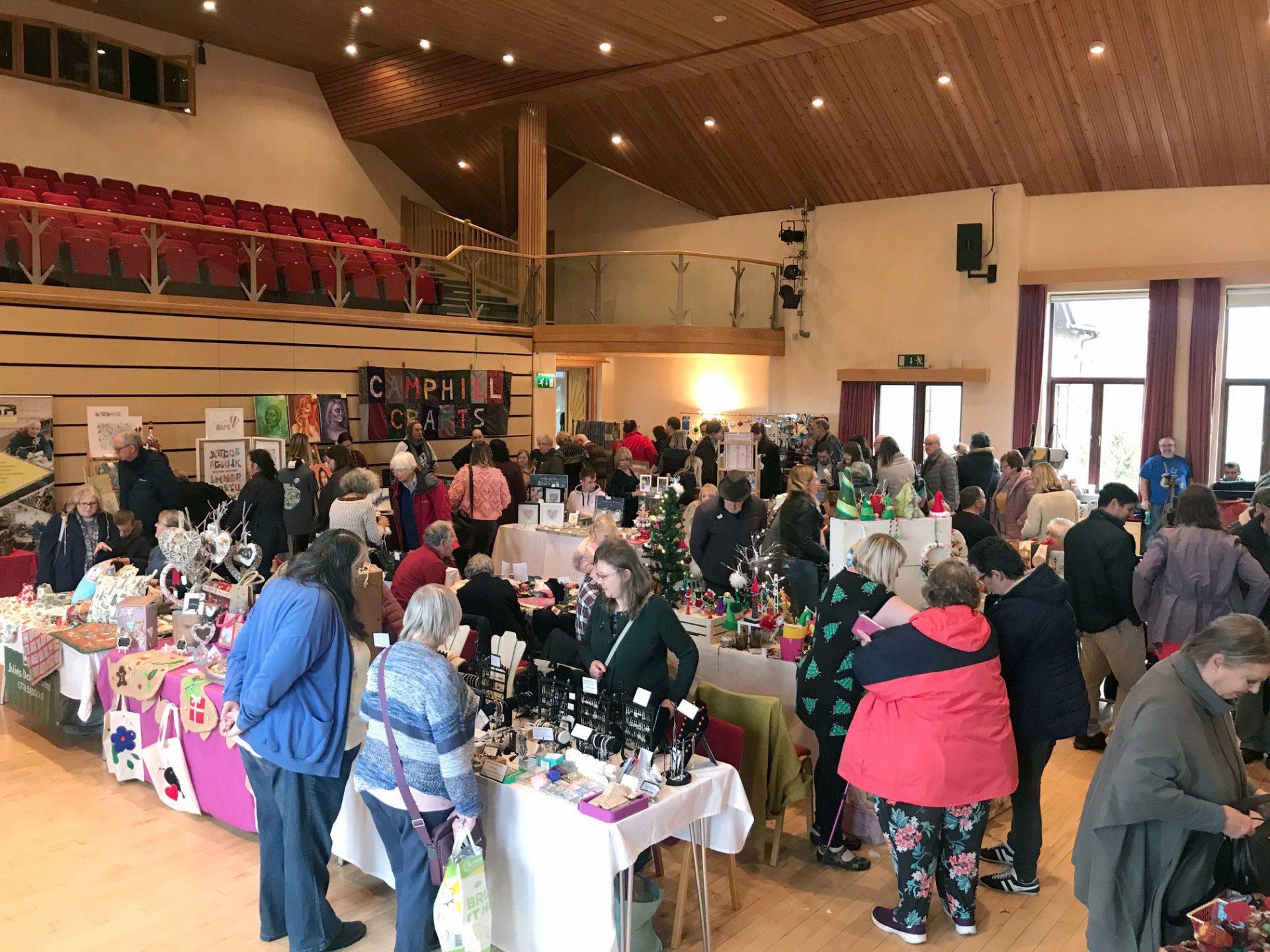 Camphill Craft Fair Success